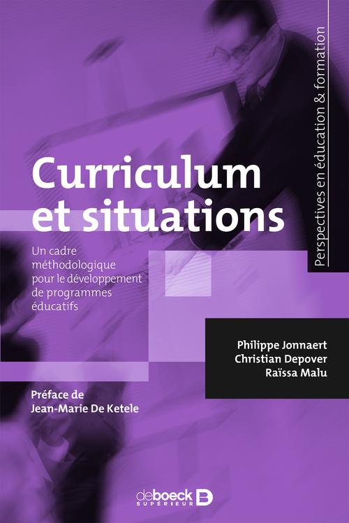 Curriculum et situations ; retrouver le sens des apprentissages