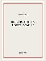 Reflets sur la route sombre  - Pierre Loti
