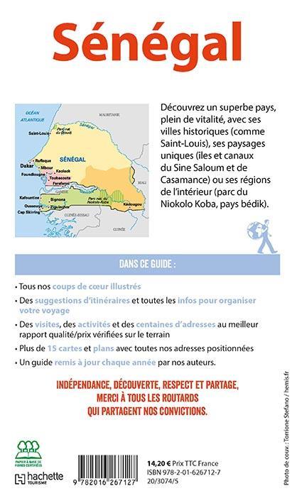 Guide du Routard ; Sénégal (édition 2019/2020)