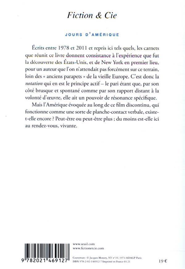 Jours d'Amérique (1978-2011)