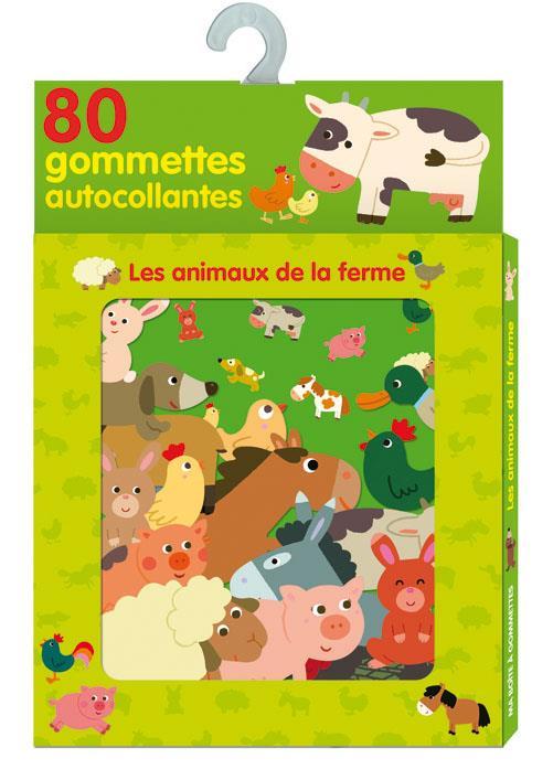 Boite A Gommettes ; Les Animaux De La Ferme