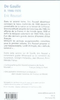 De Gaulle t.2 ; 1946-1970