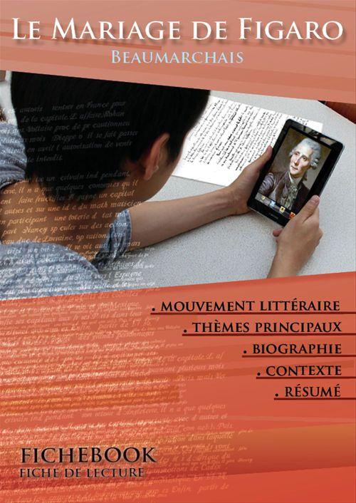 Fiche de lecture Le Mariage de Figaro - Résumé détaillé et analyse littéraire de référence
