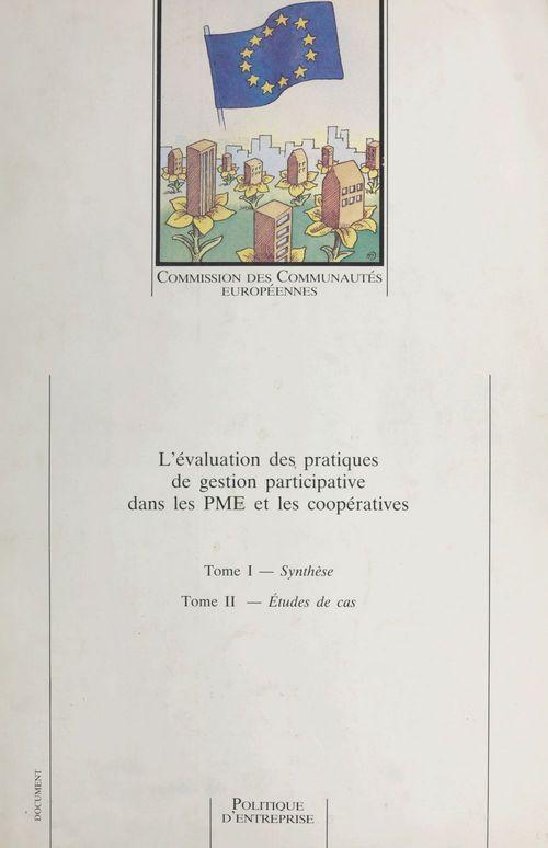 L'évaluation des pratiques de gestion participative dans les PME et les coopératives