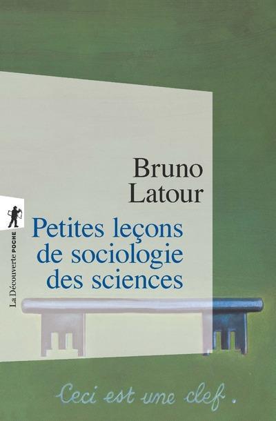 PETITES LECONS DE SOCIOLOGIE DES SCIENCES