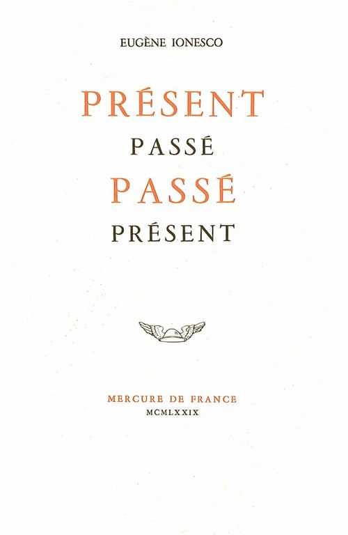 Present passe, passe present
