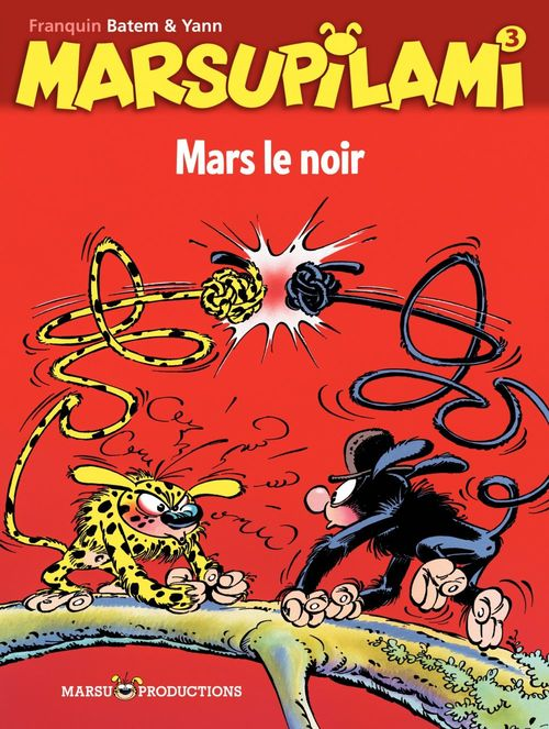 Marsupilami t.3 ; Mars le noir