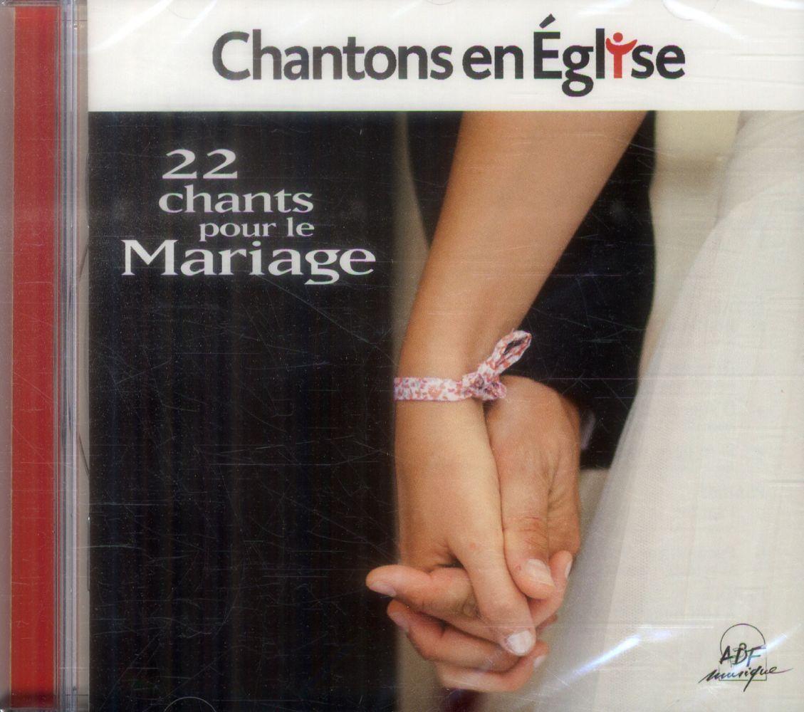 Chantons en Eglise ; mariage