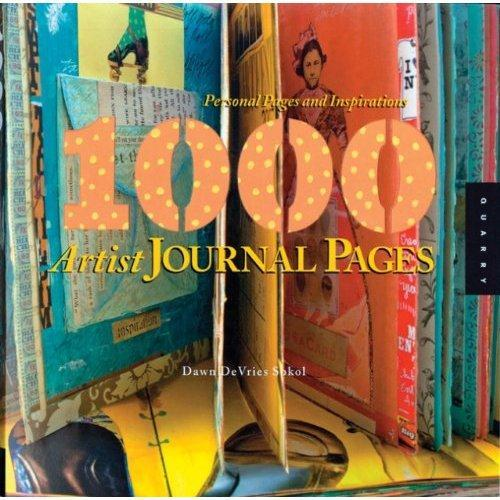 1000 artist journal pages /anglais