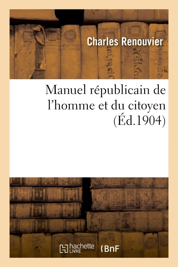 Manuel republicain de l'homme et du citoyen