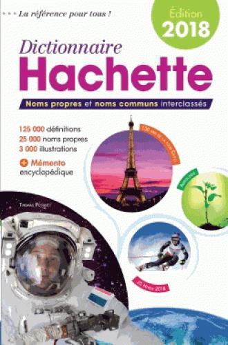 Dictionnaire Hachette France (édition 2018)