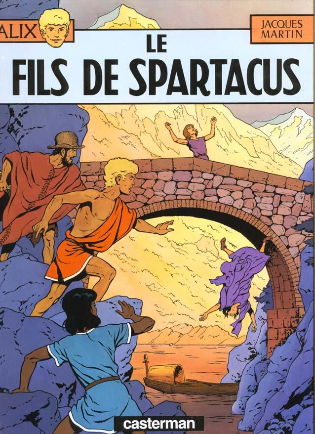 Alix t.12 ; le fils de Spartacus