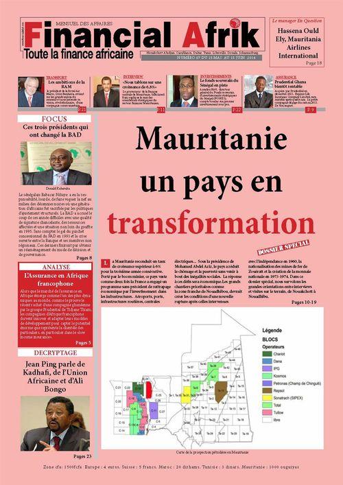 Financial Afrik n°7 juin 2014