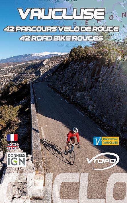 Vaucluse ; 42 parcours vélo de route