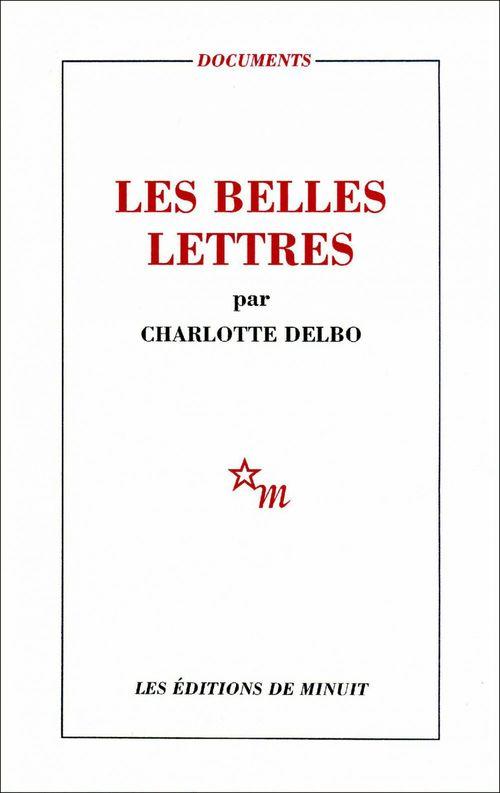 Vente EBooks : Les Belles Lettres  - Charlotte Delbo