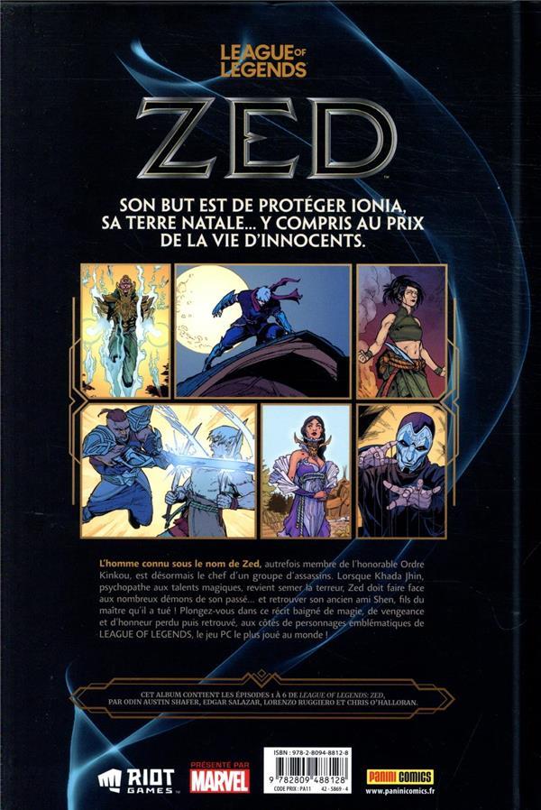 League of legends ; zed