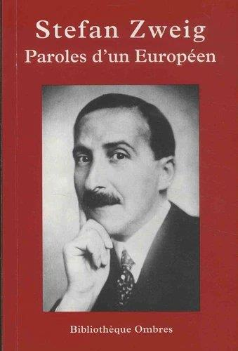 PAROLES D'UN EUROPEEN
