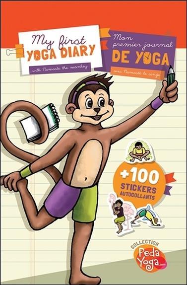 Mon premier journal de yoga ; my first yoga diary