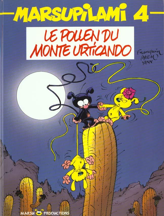 Marsupilami T.4 ; Le Pollen Du Monte Urticando