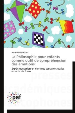 La philosophie pour enfants comme outil de compréhension des émotions