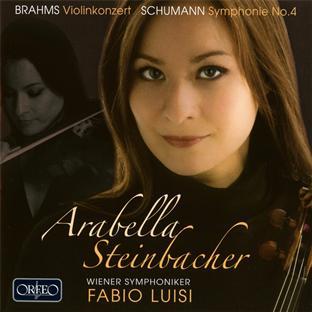 Brahms : concerto pour violon - Schumann : symphonie n°4