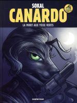 Couverture de Canardo - T24 - La Mort Aux Yeux Verts