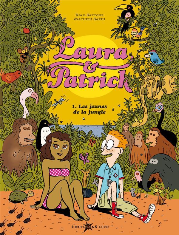 Laura et Patrick t.1; les jeunes de la jungle