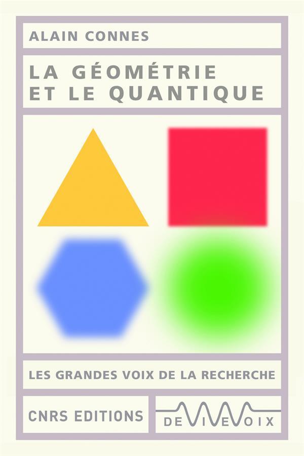 La géometrie et le quantique