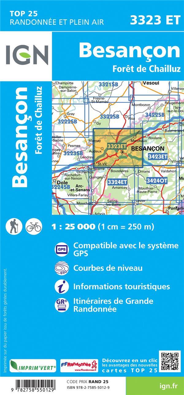 3323ET ; Besançon, Forêt de Chailluz