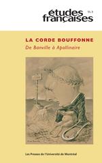 Vente Livre Numérique : Études françaises. Vol. 51 No. 3, 2015  - Sebastien Mullier - Barbara Bohac - Philippe Wahl - Bertrand Degott - Arnaud Bernadet - François-Marie Mour - Armelle Hérisson