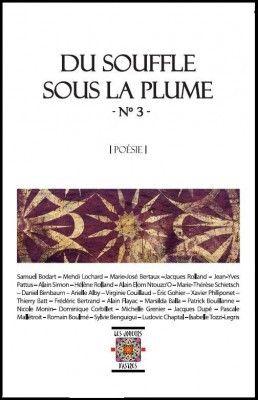 Du souffle sous la plume n 3, poesie, ouvrage collectif