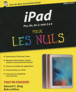 Vente Livre Numérique : IPad Pro, Plus, Air, mini Pour les Nuls  - Edward C. BAIG - Bob LEVITUS