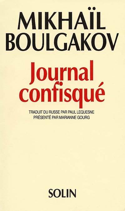 journal confisqué 1922-1925