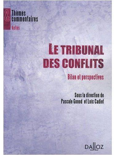Le tribunal des conflits ; bilan et perspectives