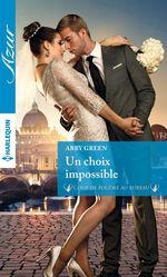 Vente EBooks : Un choix impossible  - Abby Green