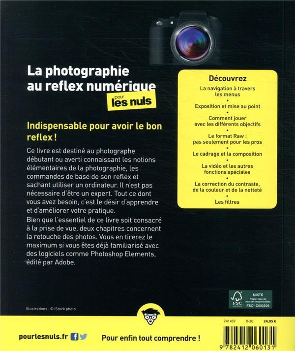 La photographie au reflex numérique pour les nuls (7e édition)