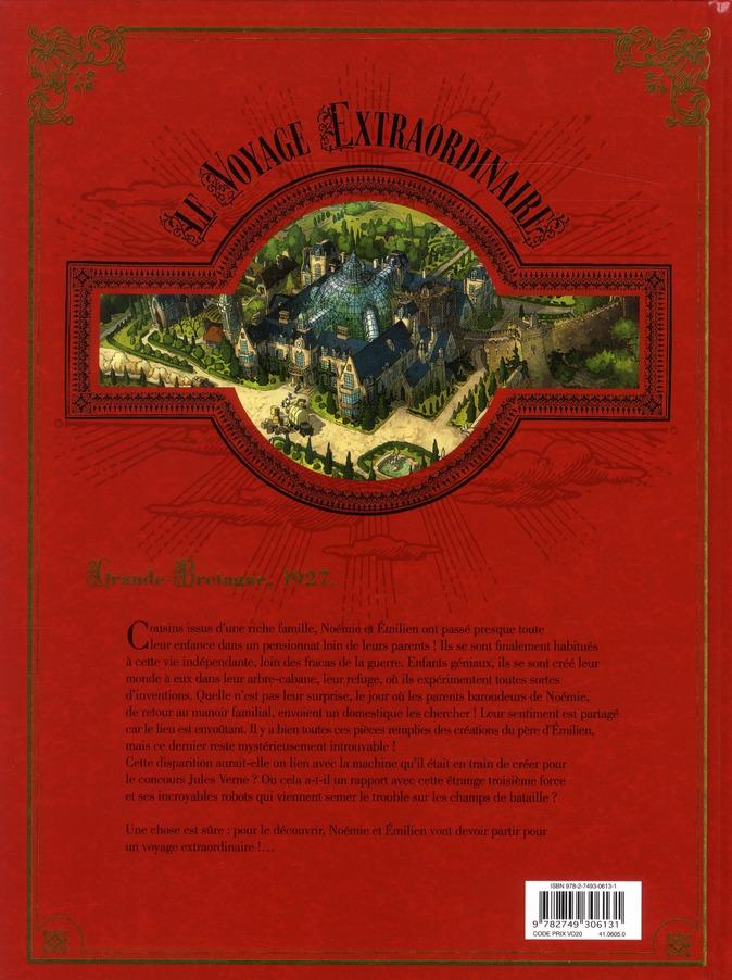 Le voyage extraordinaire t.1 ; le trophée Jules Verne t.1