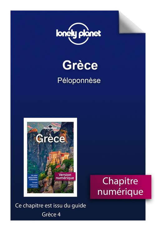 Grèce - Péloponnèse  - Lonely Planet Fr