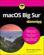Vente Livre Numérique : MacOS Big Sur For Dummies  - Bob LEVITUS