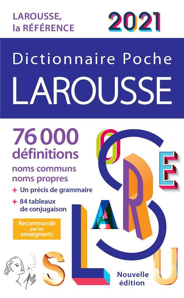 Dictionnaire Larousse poche (édition 2021)