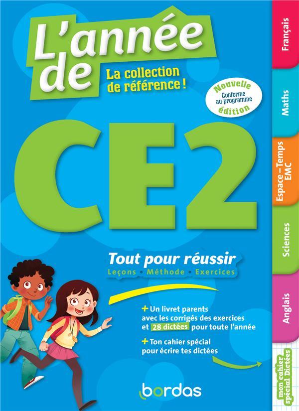 L'ANNEE DE ; CE2 ; toutes les matières (édition 2019)
