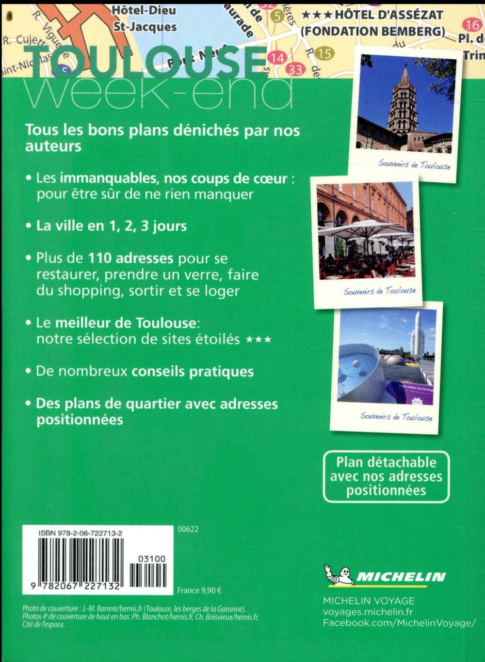 le guide vert week-end ; Toulouse