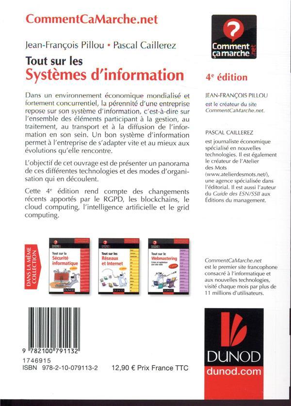 Tout sur les systèmes d'information ; grandes, moyennes et petites entreprises (4e édition)
