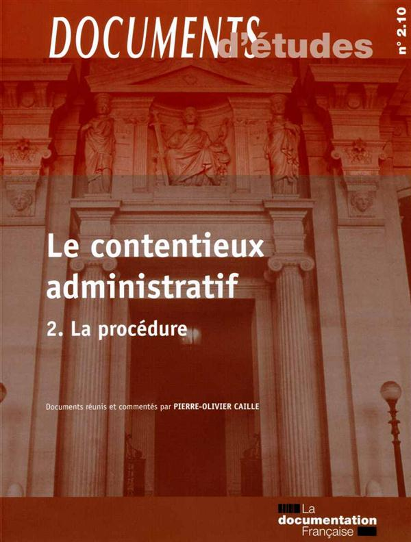 Le contentieux administratif t.2, n° 2.09