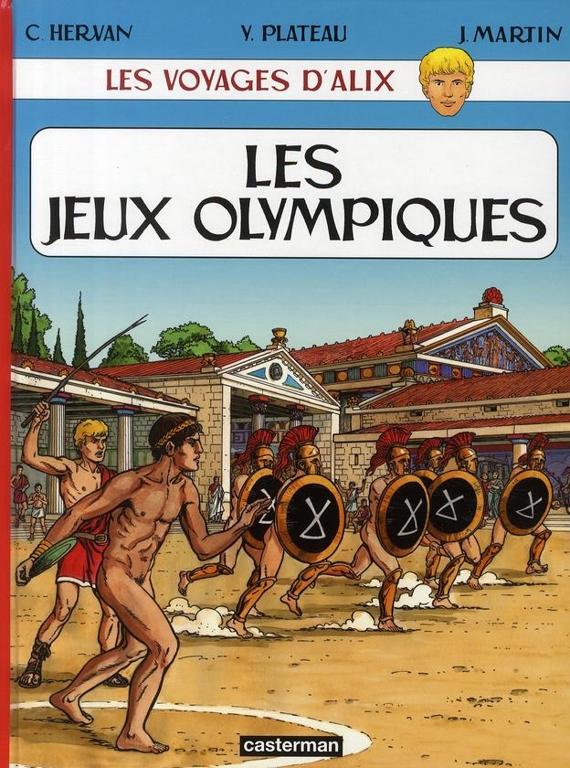 Les voyages d'Alix ; les jeux olympiques