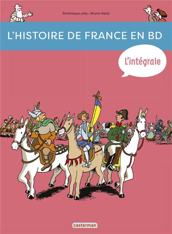 L'Histoire de France en BD ; Intégrale