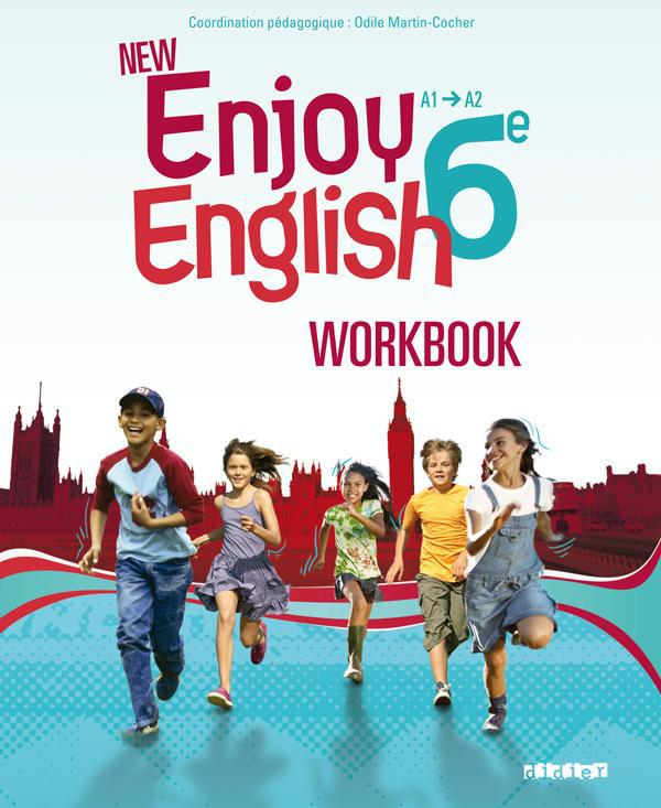 NEW ENJOY ENGLISH ; 6ème ; workbook (édition 2011)