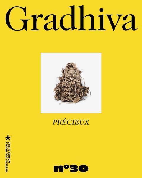 Gradhiva n 30- precieux - revue d'anthropologie et d'histoire des arts