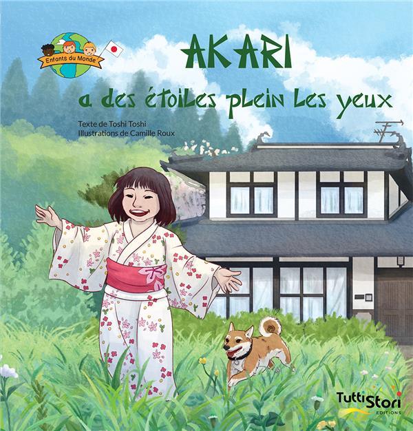 Akari a des étoiles plein les yeux