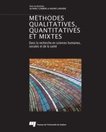Méthodes qualitatives, quantitatives et mixtes  - Marc Corbière - Nadine Larivière - Corbiere Marc/L